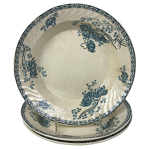 French Serving Bowls, S/3