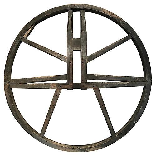 English Church Bell Wheel