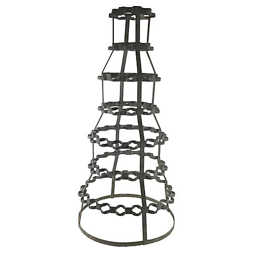 French Wine Bottle Rack