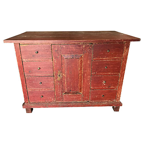 European Painted Chest