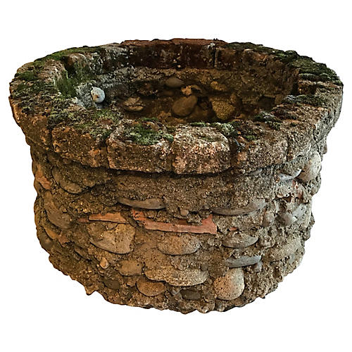 French Stacked Stone Well