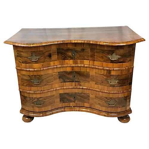 French Serpentine Dresser