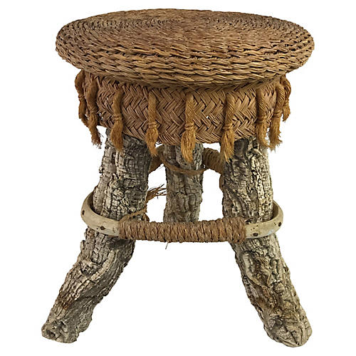 French Cork Stool