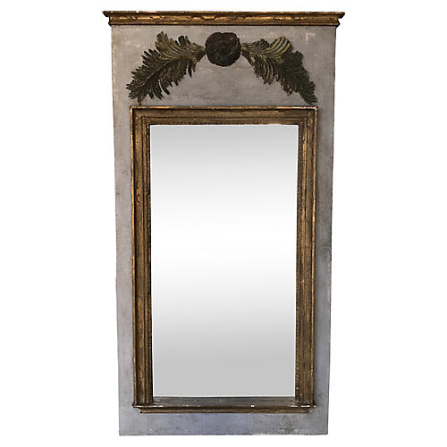 French Gilt Fragment Mirror