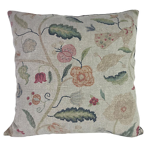 English Linen Pillow