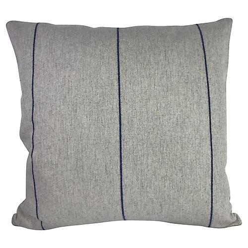 Striped Wool Pillow