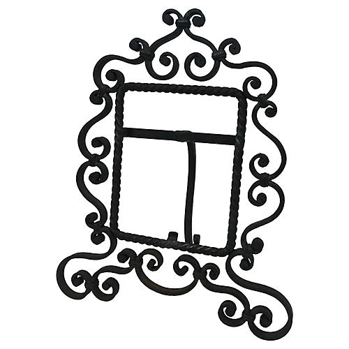French Wrought Iron Frame