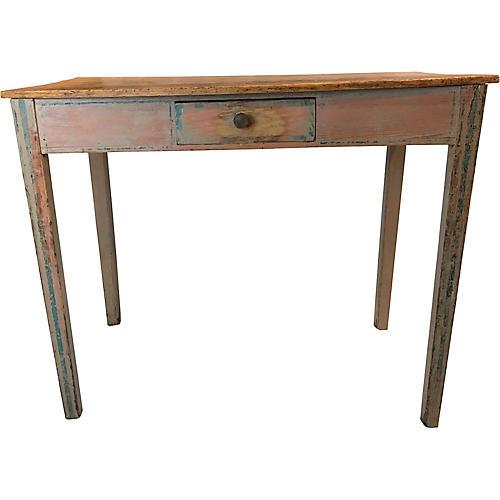 English Table w/Origional Paint