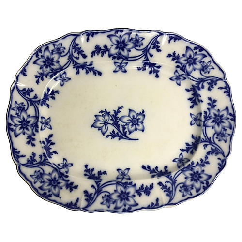 Minton Flow Blue English Platter