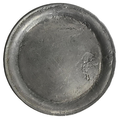 French Pewter Wine Coaster