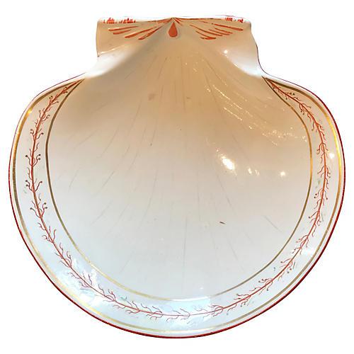 Wedgwood Creamware Shell Plate
