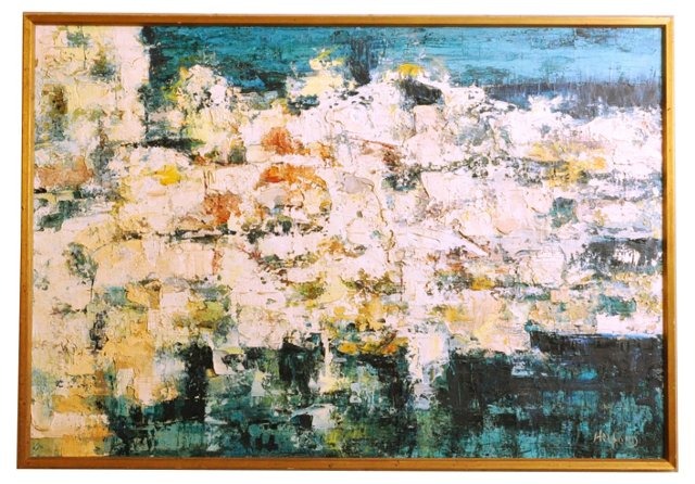 Midcentury Abstract by Riva Helfond