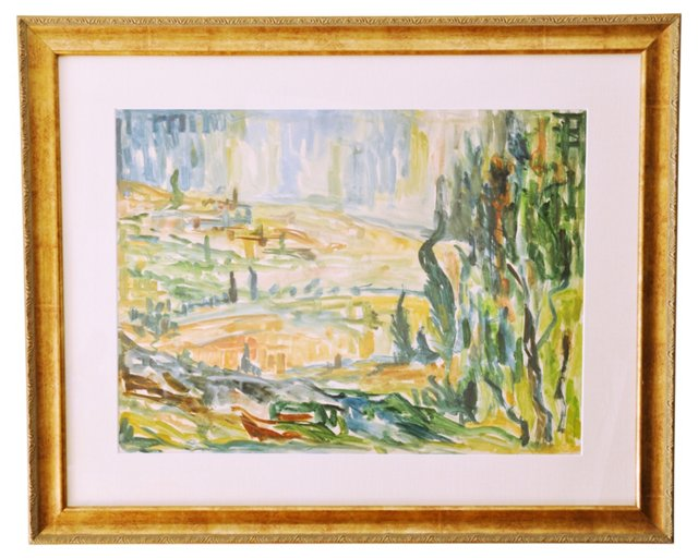 Abstract Landscape, 1958