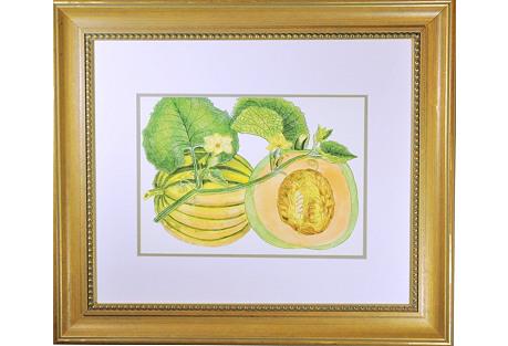Melon Print