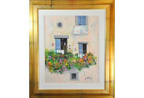 Flowered Balcony by Gianca Patrizi