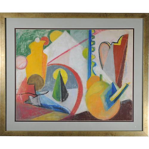 Cubist Still Life by Anne Helioff