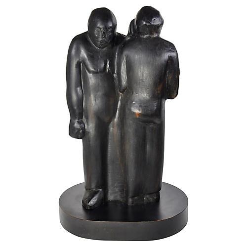 Family Sculpture by Irene Koldorf