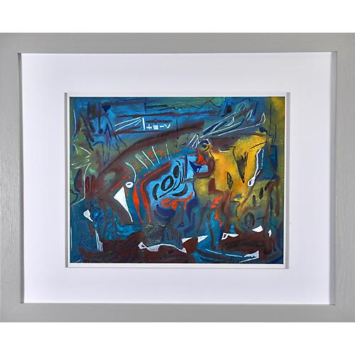 Midcentury Abstract by Joseph Meierhans