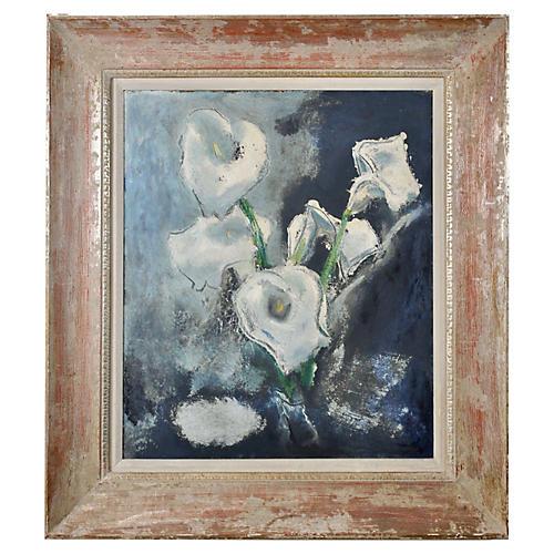 Modernist Calla Lilies