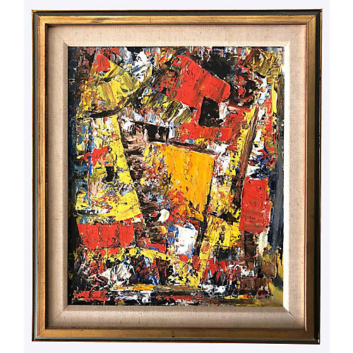 Angular Abstract by Woodard