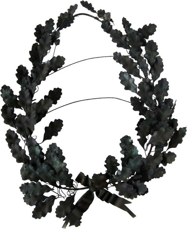 19th-C. Tole Wreath