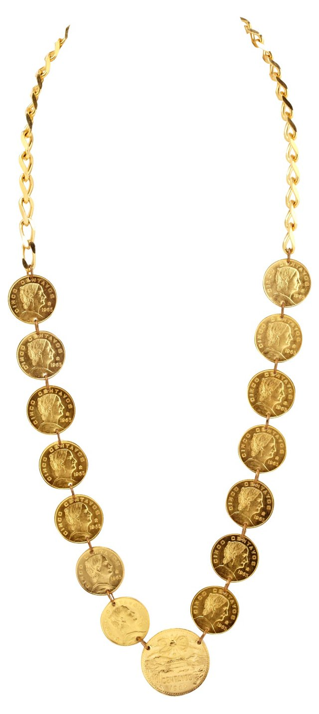 1960s Coin Necklace