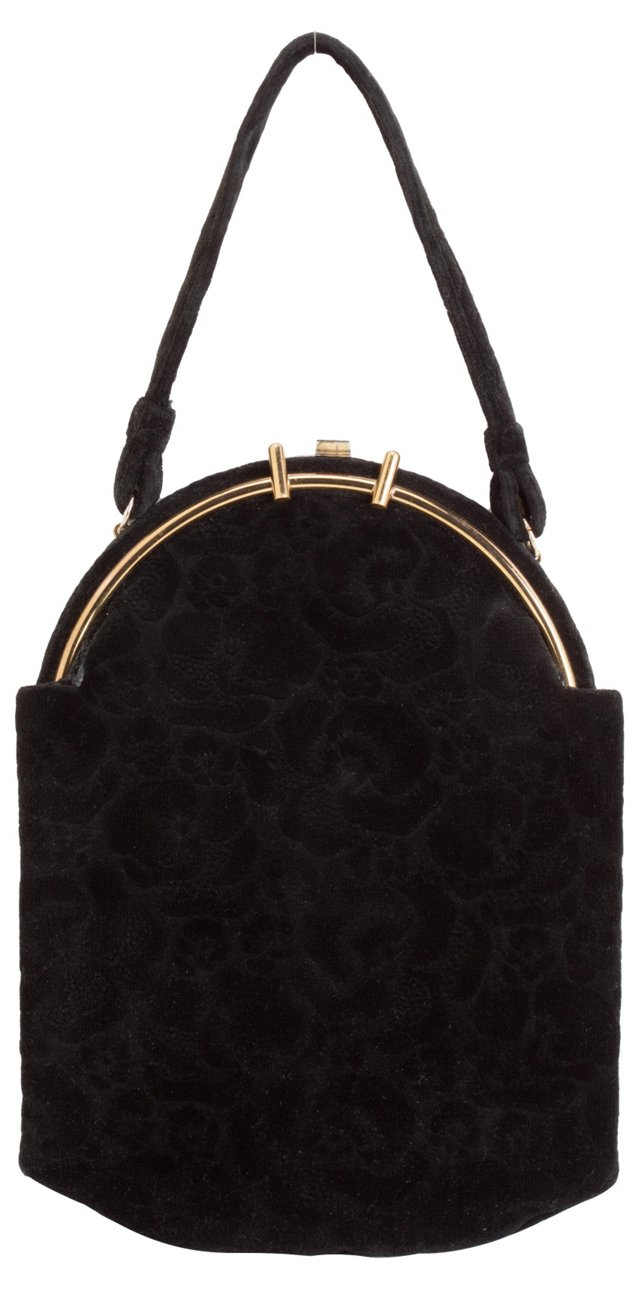 Lewis Italy Black Bag