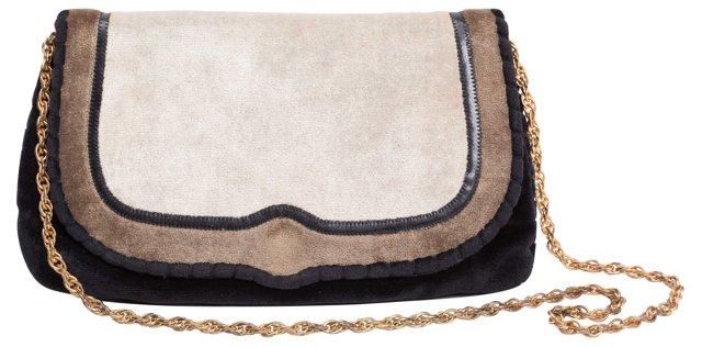 Mary Ann Rosenfeld Velvet Bag