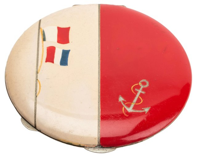 French Sailor-Motif Compact