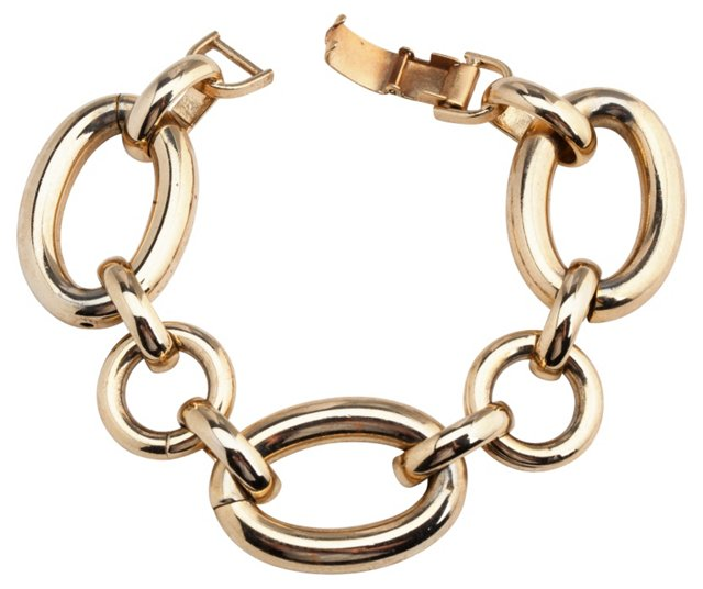 Bergere Oval-Link Bracelet