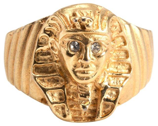 Sphinx Egyptian-Revival Ring