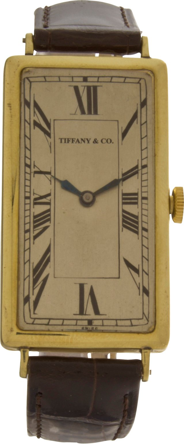 1920s Tiffany & Co. 14K Gold Watch