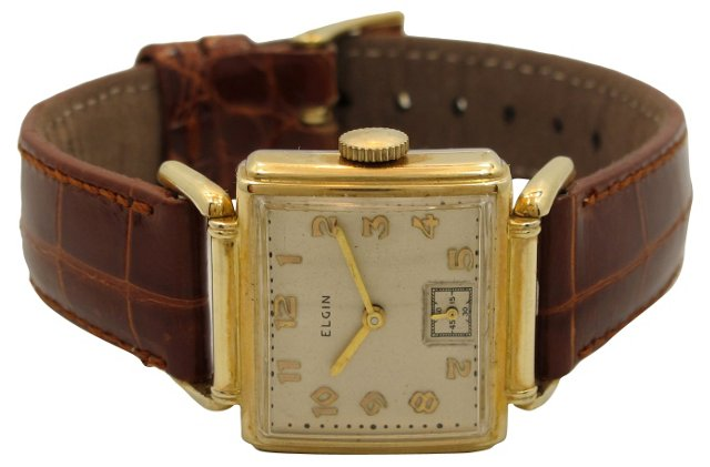 1940 Elgin Driver's Watch