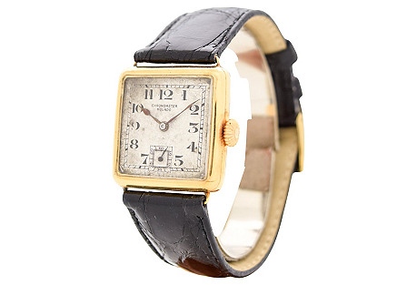 Movado Chronometer Ref. 5052, 1920's