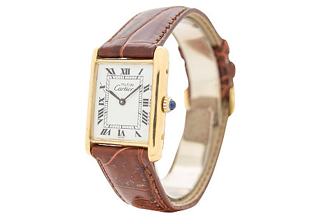 Cartier Tank Must De Mens Watch, 1990's