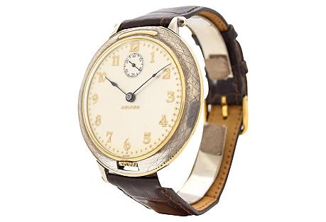 Movado Pocket Watch Conversion, 1930's