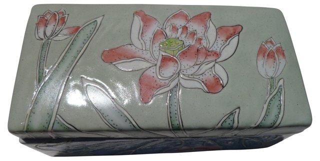 Porcelain Vanity Box