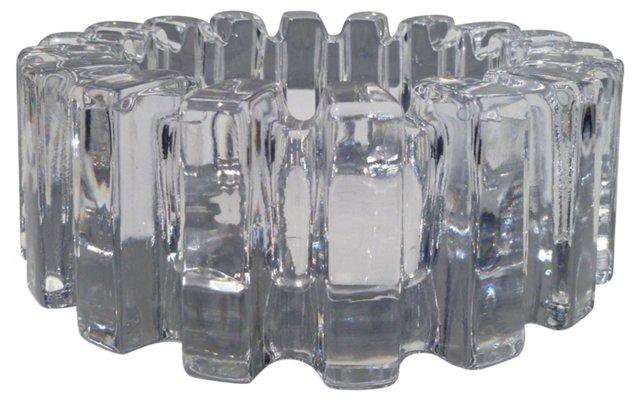 Oversize Glass Ashtray