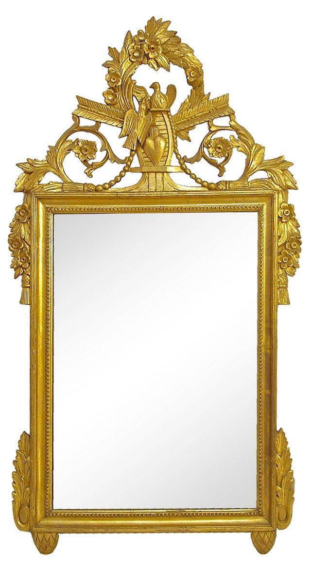 Ornate Italian Giltwood Mirror