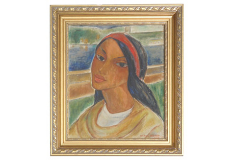 Cuban Girl by Victor Manuel