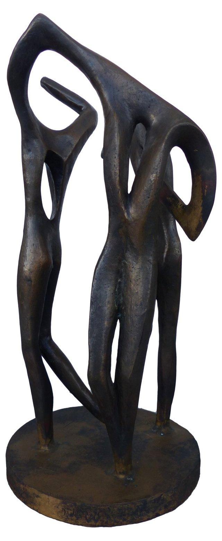 Modernist Sculpture of Dancers