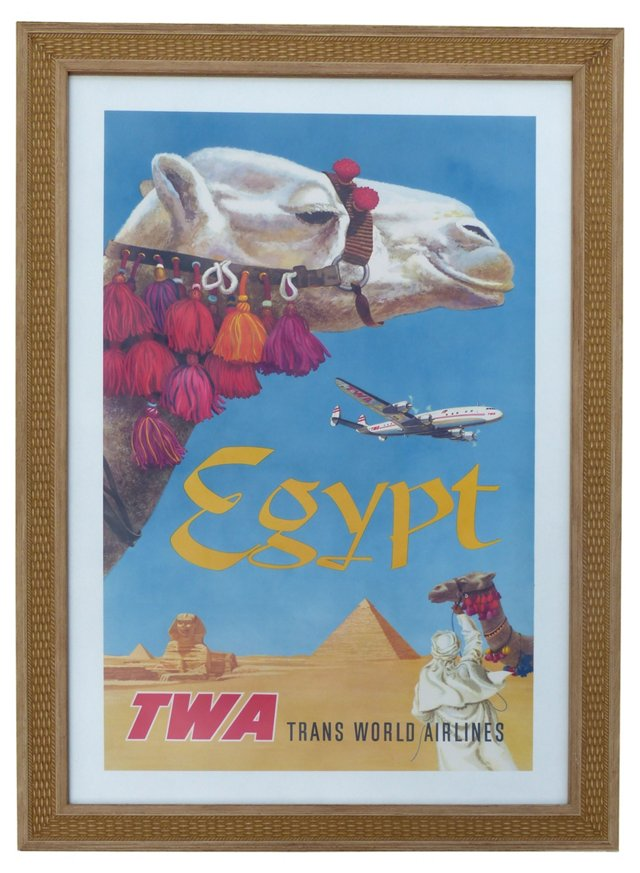 TWA Poster by David Klein