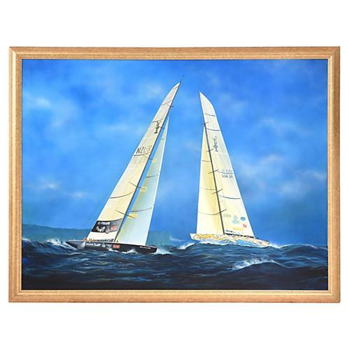 Nautical Painting by Gabriel Duarte