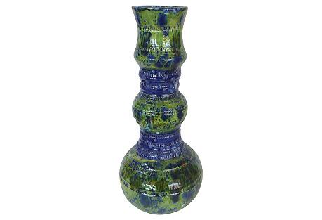 Glazed Ceramic Vase by Gary Fonseca