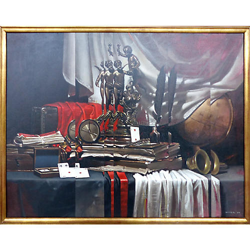 Still Life w/ Letters by Diego Dayer