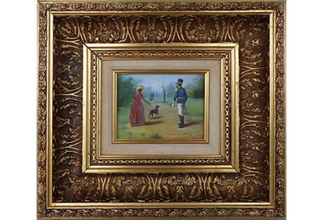 Victorian-Style Scene