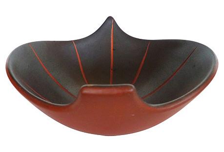 Mid-Century Modern Ceramic Bowl