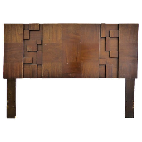 "Lane Brutalist 60"" Full Size Headboard"