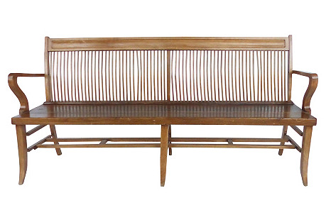 Turn-of-the-Century Long Bench