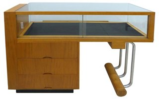 Art Deco Display Case By Weber Showcase   Cabinets U0026 Hutches   Dining Room    Furniture | One Kings Lane